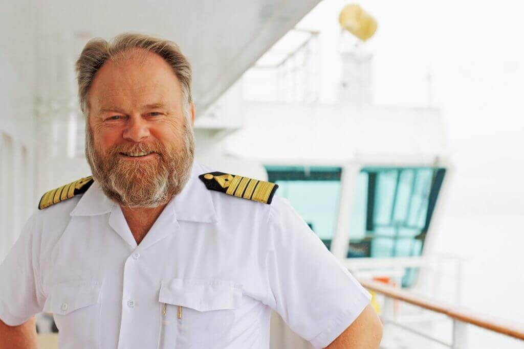 Captain of Crystal Cruises