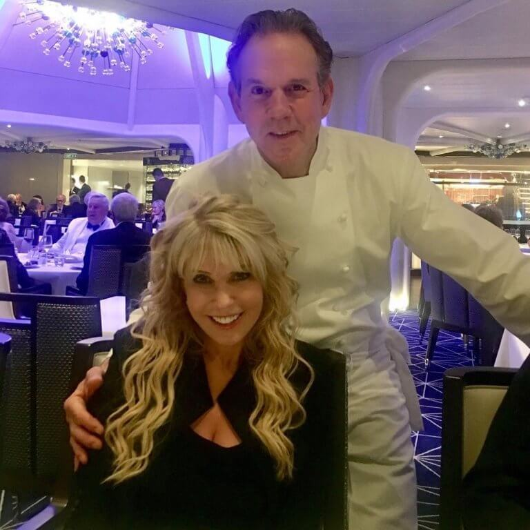 Mary Jean Tully and Celebrity Chef Thomas Keller