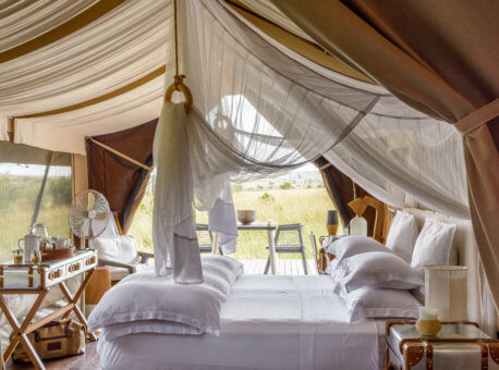 Singita Mara River Tented Camp in Tanzania